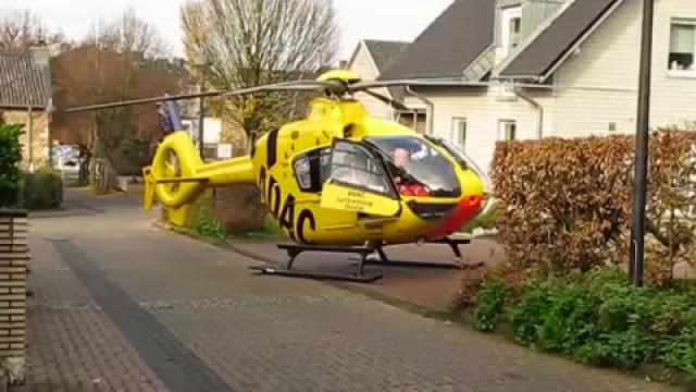 Partir au travail en hélicoptère, véhicule dangereux dans le cartier