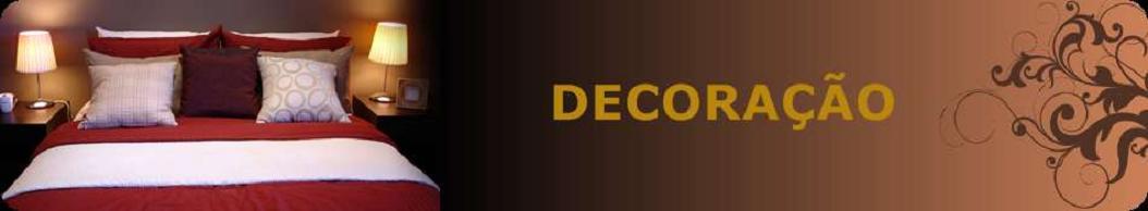 Decoração, seguindo tendências de decoração