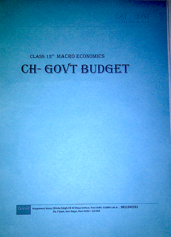 government budget chapter 1 Chapter 41 of budget 2013 highlights the federal government's commitment to balancing the budget  (chart 414) the government's actions since budget 2010 have constrained growth in discretionary spending and have been part of a clear plan to eliminate the deficit over the medium term.