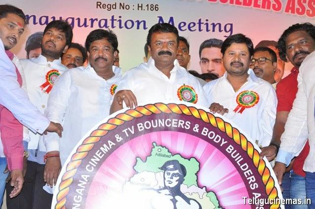 Telangana Cinema Association photos And Tv Bouncers Association Bodybuilders Association Launch Photos Telugucinemas.in,Association of Telangana Cinema andTv Bouncers and Bodybuilder Association pictures