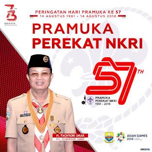 Selamat Kepada Plt Gubernur Jambi H Fachrori Umar