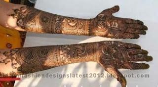 Pakistani-Mehndi-Designs 2013-14