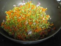 carrot beans poriyal 3