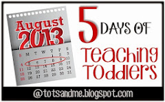 5 Days of Teaching Toddlers
