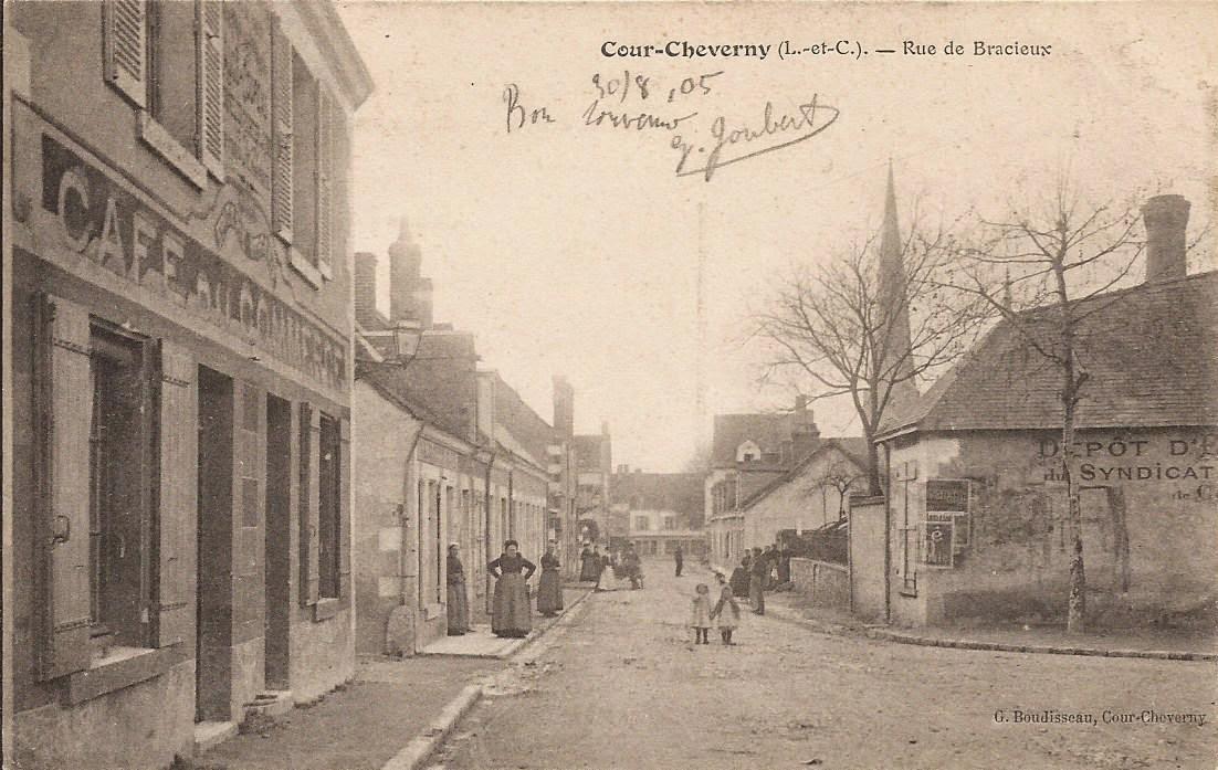 Rue Barberet à Cour-Cheverny
