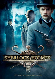 Igor Petrenko as Sherlock Holmes and Andrei Panin as Doctor John Watson in the new Russian Sherlock Holmes 2013 television series