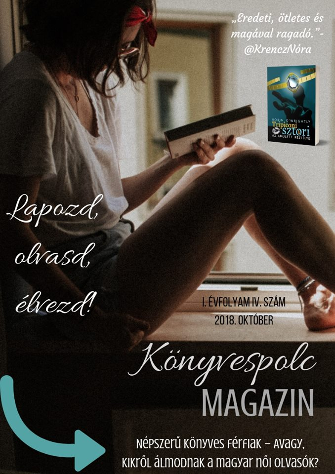 Könyvespolc magazin - 2018. október