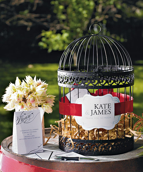 Sugar spice all things nice bird cage wishing wells - Cage a oiseau decorative ...