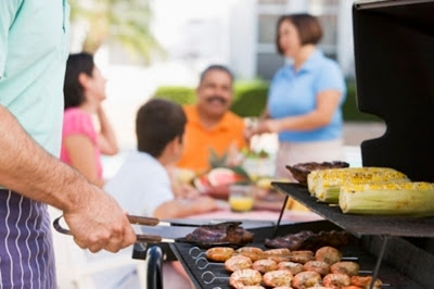 Have an intimate outdoor cooking dinner with your family and invite some of your friends to spend the day with you.