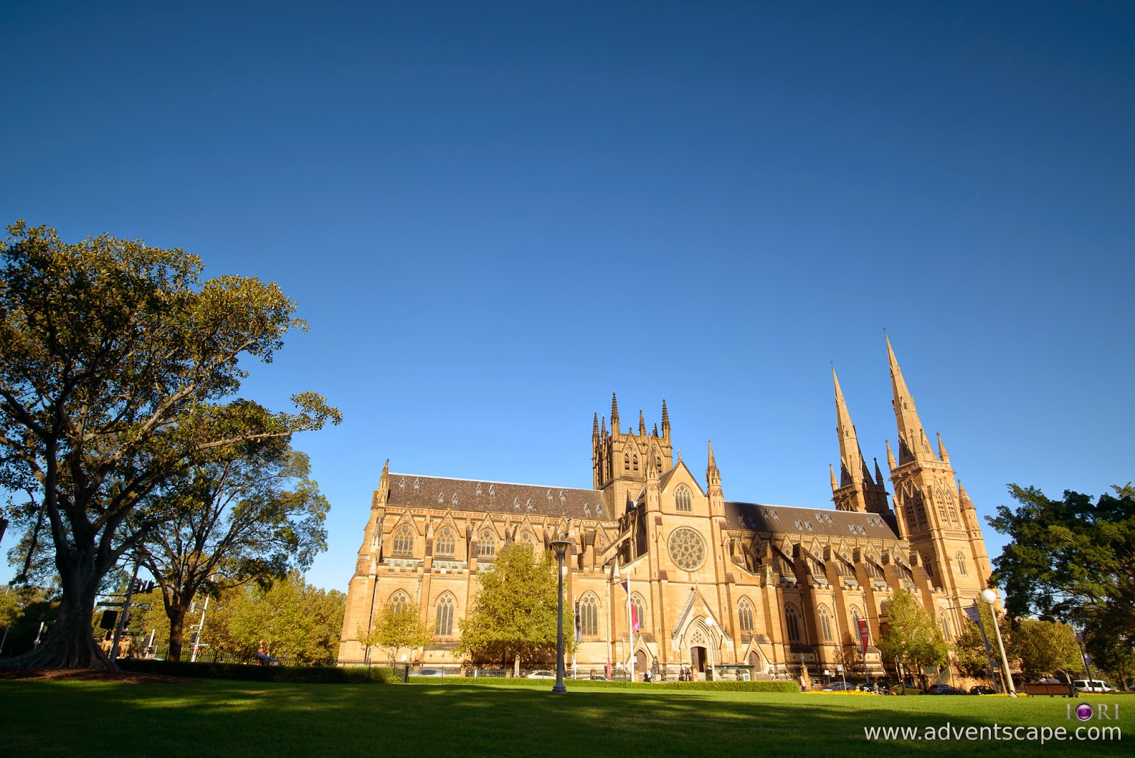 Philip Avellana, Australian Landscape Photographer, NSW, New South Wales, Sydney, Australia, St Mary's Cathedral, church, comparison, review, glass vs resin, filters, Lee Filters, soft ND, ND, neutral density, graduated neutral density, GND, grad nd, proglass, 0.9, 3 stops