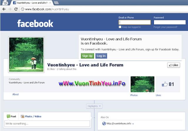 cách vào facebook 1/2014 12/2013 mới nhất