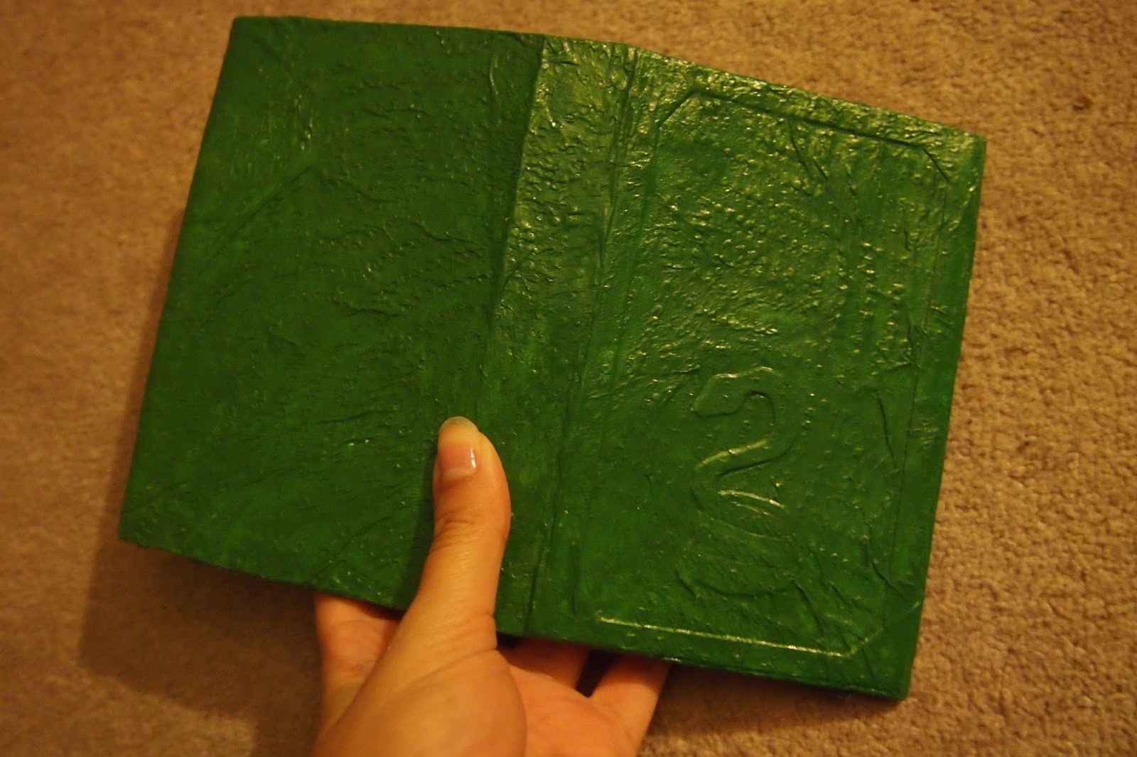 How To Make A Leather Book Cover ~ World turn d upside down how to make faux leather book covers