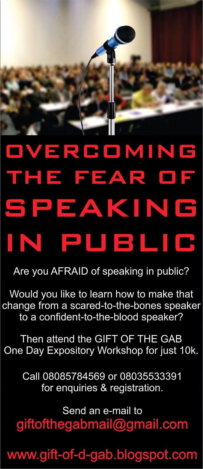 Overcome Your Fear of Speaking in Public