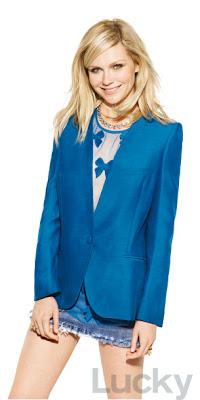 Kirsten Dunst - Lucky Magazine - January 2012