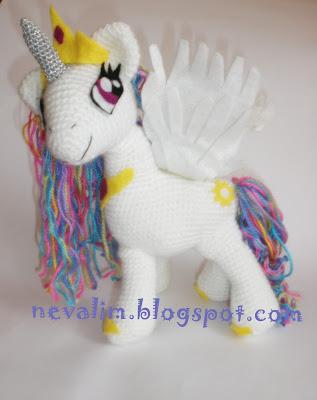 HAYATIMIN ?c?NDEN.....: amigurumi my little pony princess ...