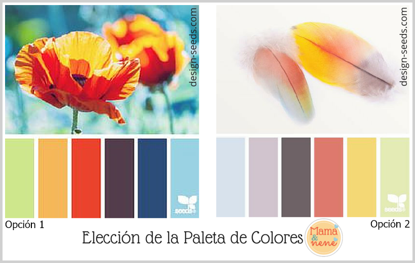 Paleta de colores y tipografía para mi blog.   Mamá&nené ...