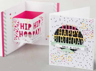 Party pop up thinlits zena kennedy independent stampin up demonstrator,