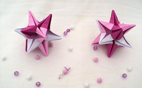 Color caramelo agosto 2011 - Origami de una estrella ...
