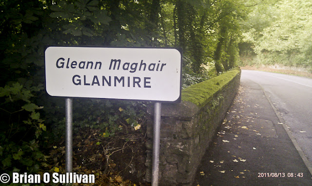 Glanmire (Irish: Gleann Maghair) literally meaning 'The valley of the small fish; The valley of the ploughed land:' The Still Vale: The Valley of the Young Fish) is a suburb in Metropolitan Cork, Ireland with a population of 15,498.