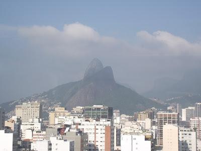 Vista da Pedra da Gávea, do Mirante da Paz,Comunidade Pavão Pavãozinho,Ipanema