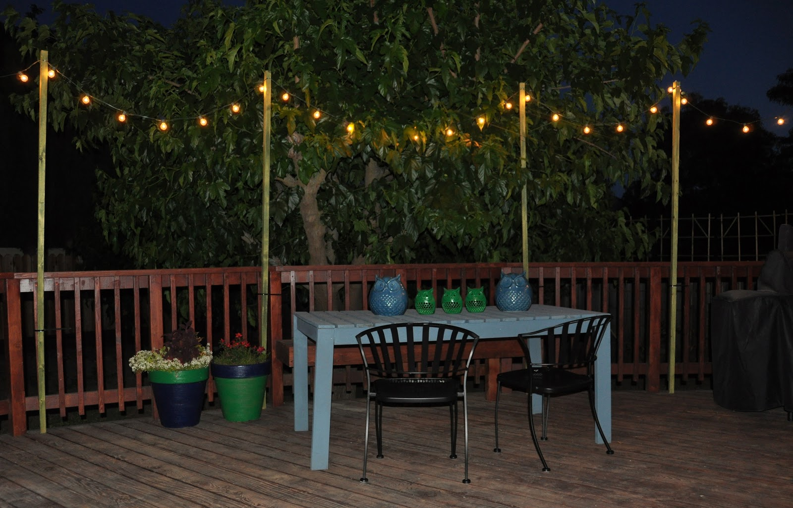 renter solution: brightening your patio wit wisdom & food