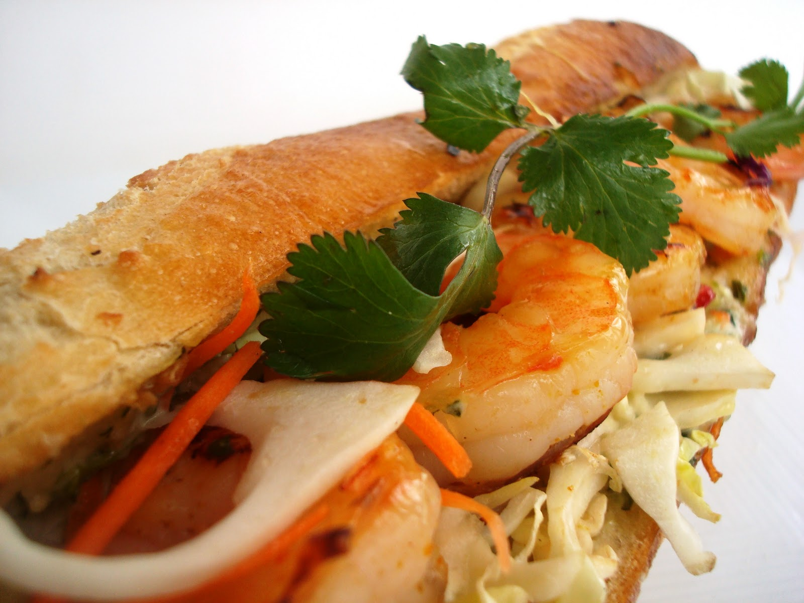 Grilled Shrimp with a Sweet Ginger Glaze
