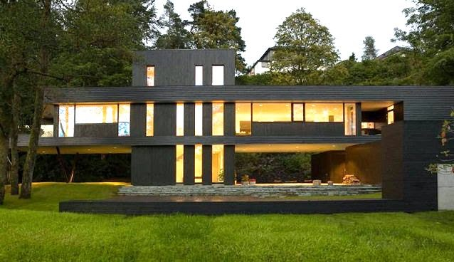 Casa de un arquitecto en bergen noruega arquitectura for Arquitectura contemporanea casas
