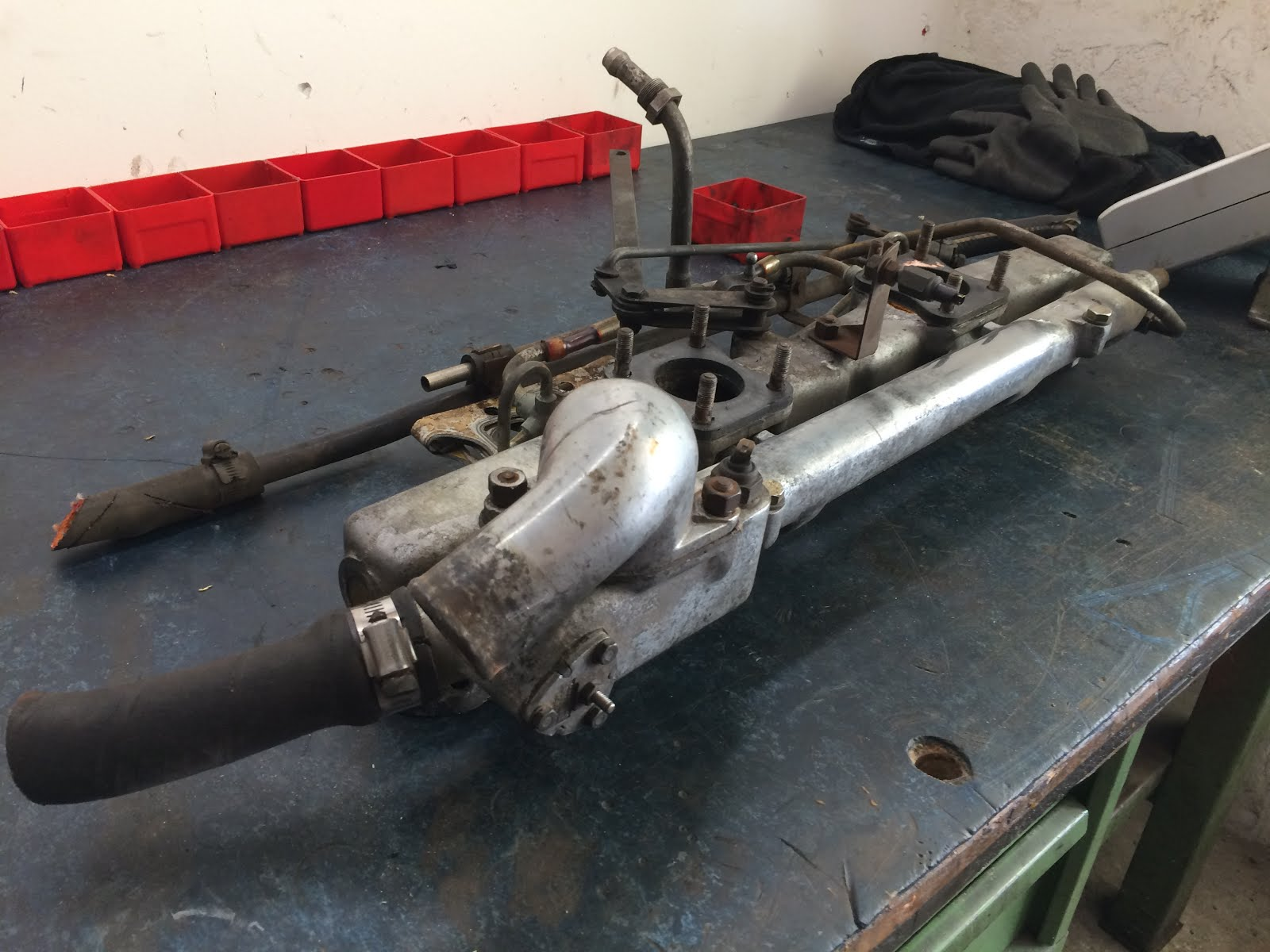 Restaurierung eines 1960er Jaguar MK II 3.8