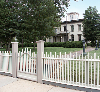 Home decor design elegant fence increase the performance - Fences for houses designs ...