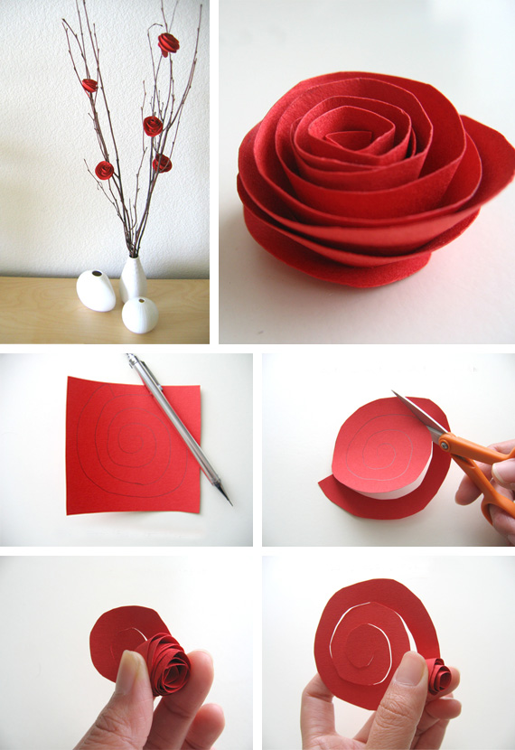 diy paper flowers simple