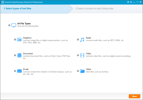 Recovering Files from Formatted Drive with EaseUS Software