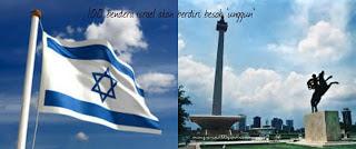 100 Bendera Israel Di Jakarta