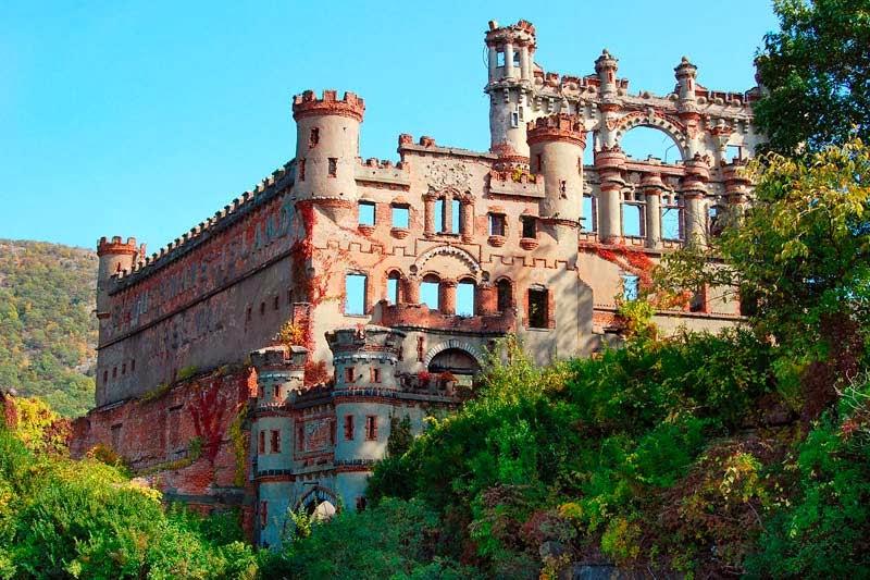 Castillo Bannerman. Isla Pollepel, Nueva York.