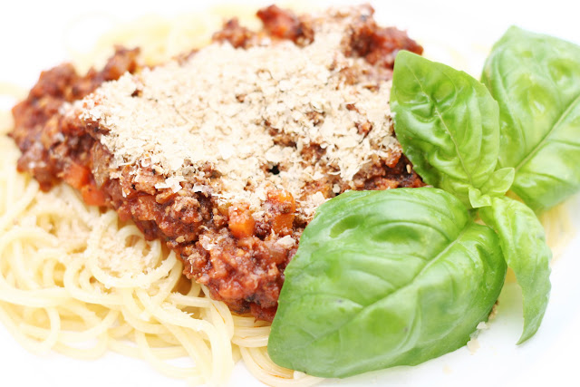 Das vegane Familienkochbuch, Bolognese
