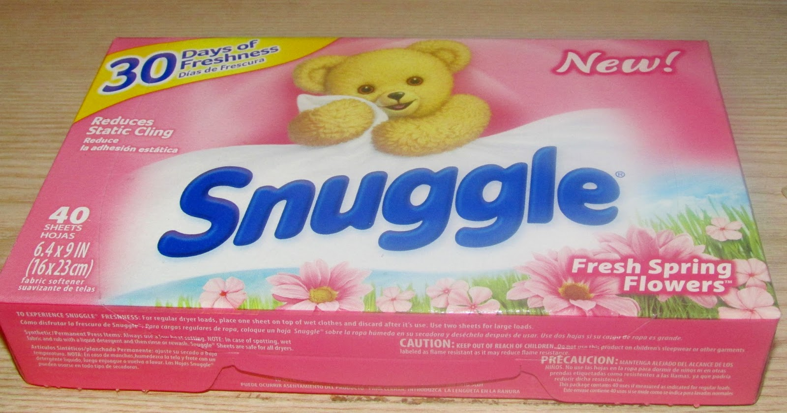 Heck Of A Bunch Snuggle Fresh Spring Flowers Fabric Softener Review