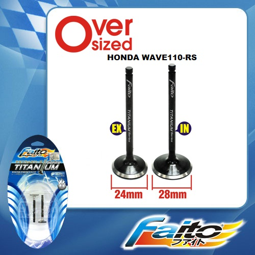 Accessories Online Shop New Faito Racing Valve Set Titanium Series