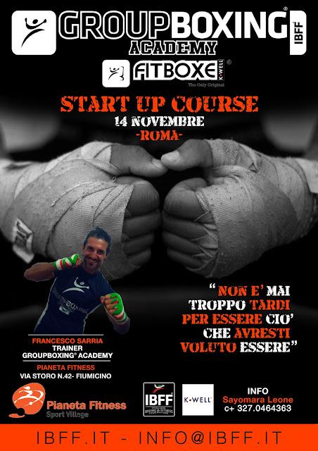 GB® FitBoxe® Start Up- Lazio, 14 Novembre 2015 a Fiumicino