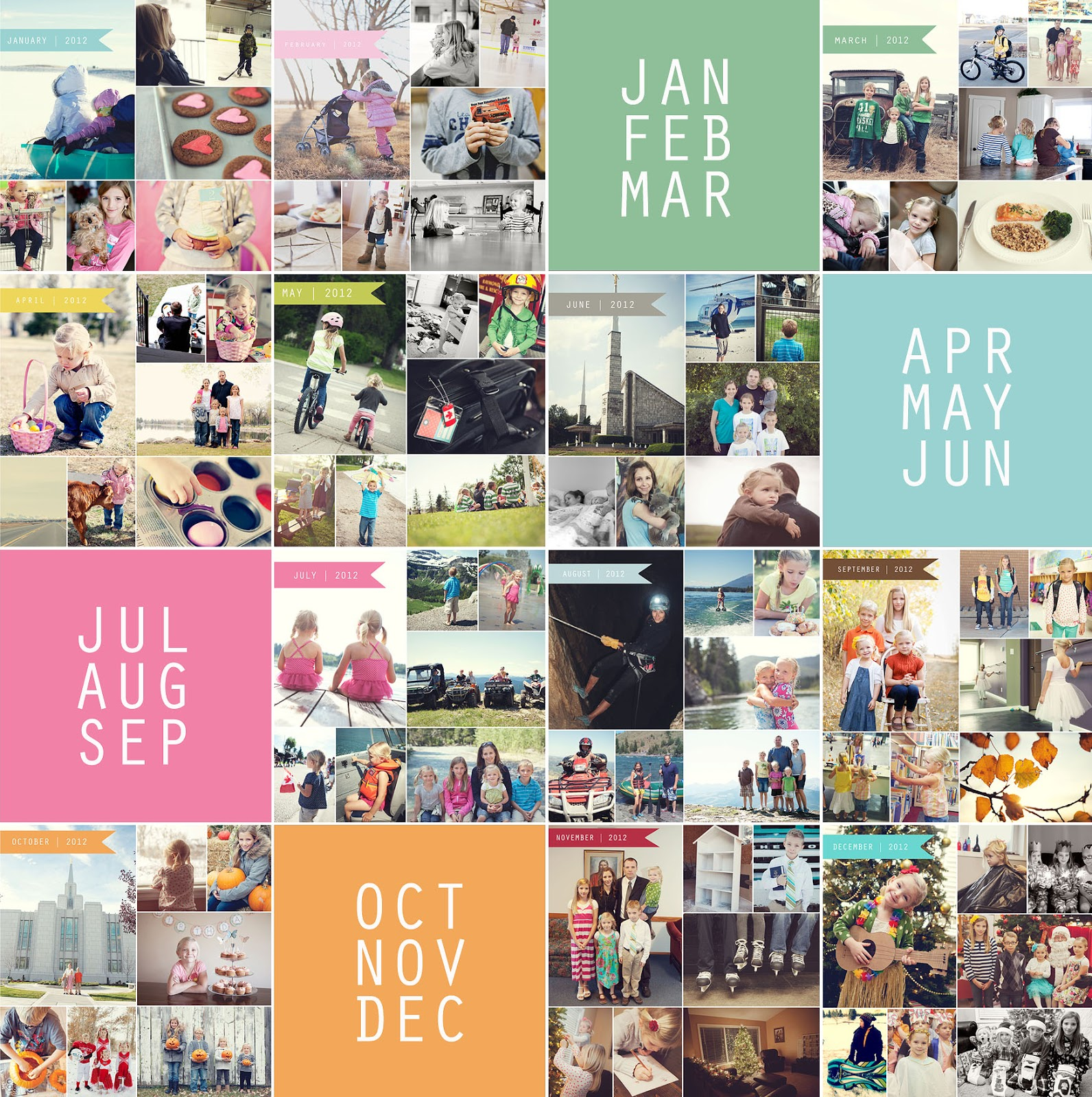 Free Photo Collage Templates from Simple as That - simple as that