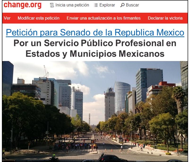 Petición en Change.org : invitación a que firmes. Clic en imagen
