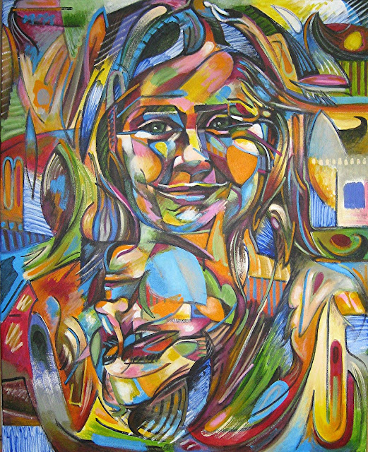 Entrada con un vídeo con fotografías pasa a paso de la realización de un retrato. Retrato doble de Ana, pintado por Juan Sánchez Sotelo profesor de la academia de dibujo y pintura, Artistas6 de Madrid. Clases y cursos para aprender a dibujar y pintar. Venta de obra original contemporánea abstracta y figurativa. Realización de retratos y otros encargos