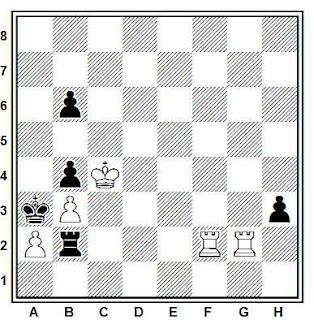 Problema ejercicio de ajedrez número 706: Estudio de V.A. Chejover y V. Korolkov (1937)