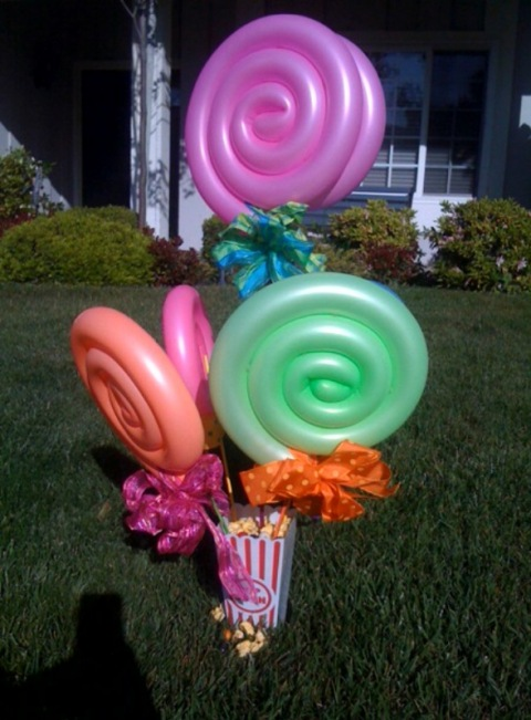 Southern charm events balloon centerpieces