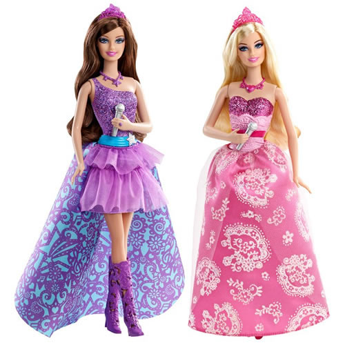 The Princess and The Popstar Movie review and Barbie themed party