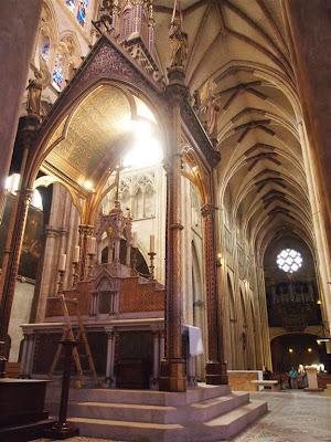 Altar de la Catedral de Santa María (Cathédrale Sainte-Marie) de Bayona