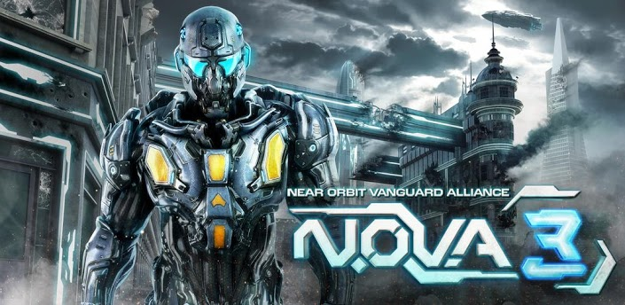 main NOVA 3 Near Orbit Vanguard Alliance Android Game|Super Compressed In 5.5Mib Only|