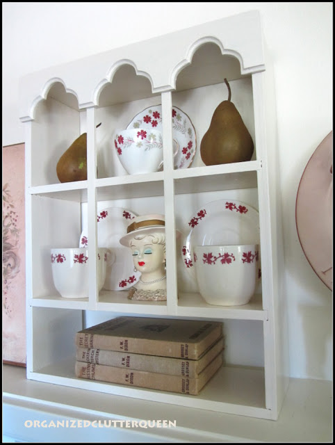 Tea Cup Shelf