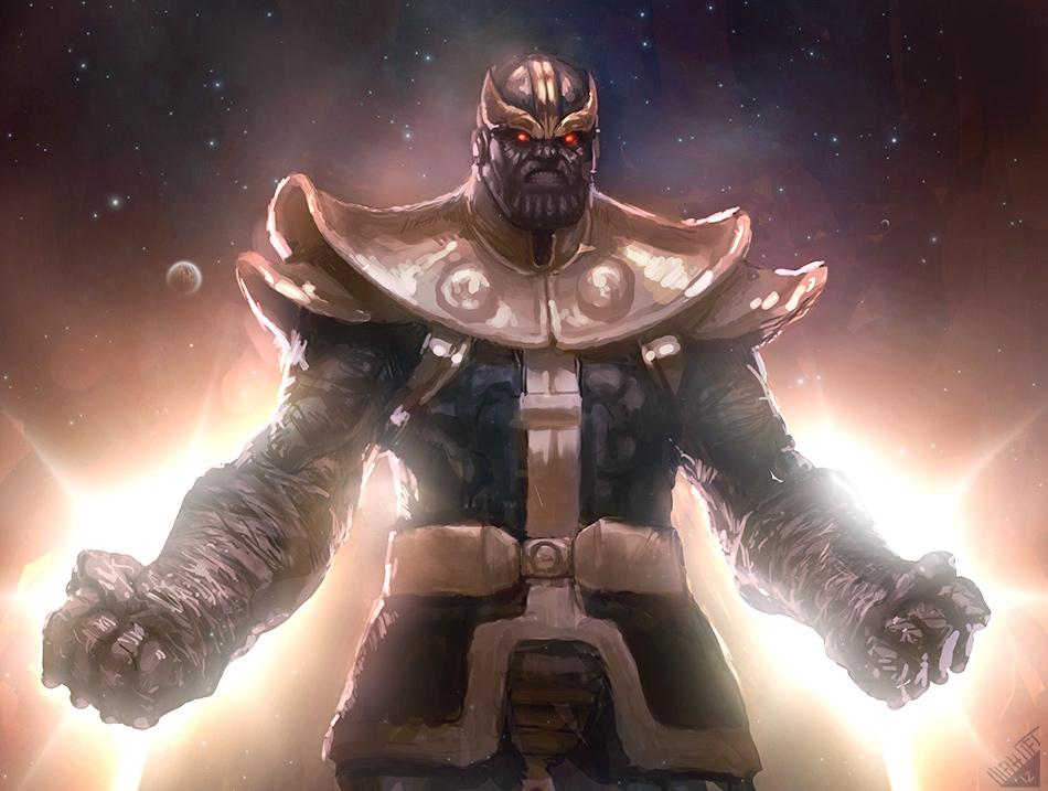 Spool Pidgin Is Marvel Comics Villain Thanos Based On
