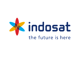 Indosat Logo Vector download free