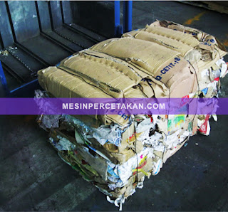 Waste Paper Packing | Sampah kertas/karton bekas
