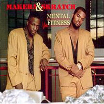Makeba & Skratch – Mental Fitness (1991, LP, 320)
